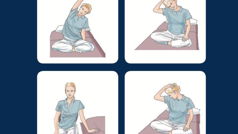Guía de ejercicios sobre espasticidad en esclerosis múltiple